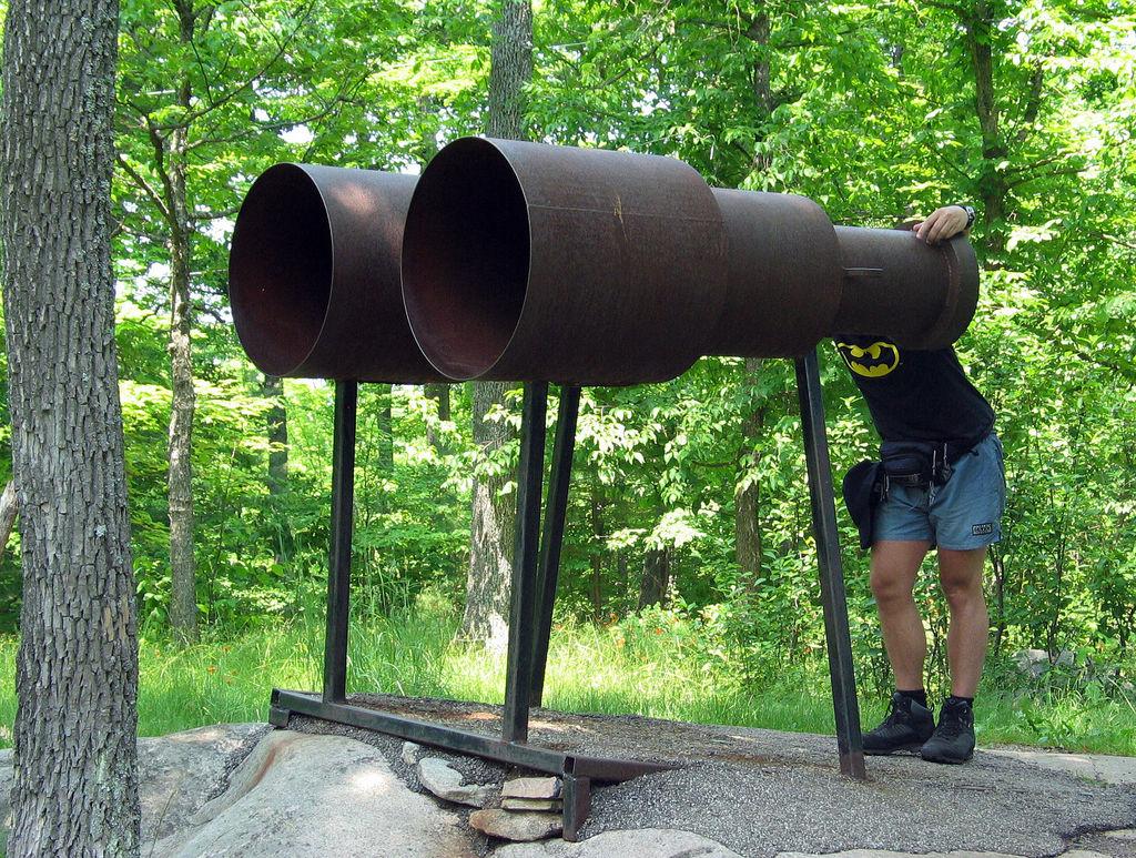 binoculars